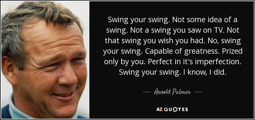 Golf tip quotes